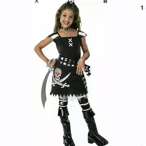 🆕 SCAR-LET PIRATE Costume Child Large (12-14)